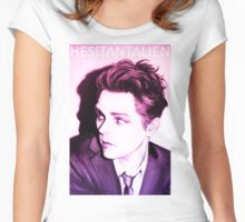 Hesitant Alien  Women's Fitted Scoop T-Shirt