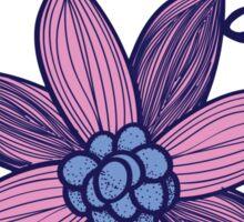 alpha sig flower Sticker