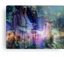 Jesus and Mary Magdalene Metal Print