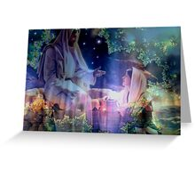 Jesus and Mary Magdalene Greeting Card