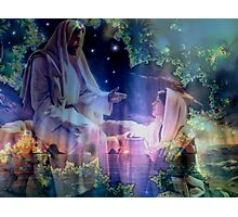 Jesus and Mary Magdalene Photographic Print