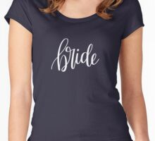 Bride - white Women's Fitted Scoop T-Shirt