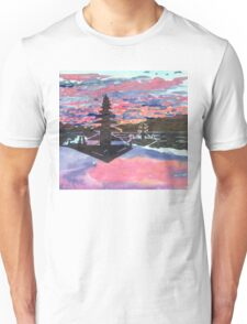 Temple Sunset  Unisex T-Shirt