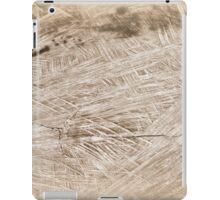 wooden background iPad Case/Skin