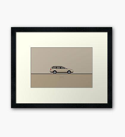 VW Passat Framed Print