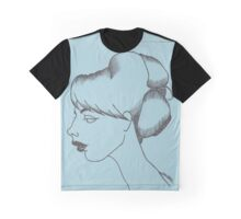 Lisette (Light Blue) Graphic T-Shirt
