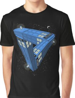 Doctor Who - Impossible Call Box Graphic T-Shirt
