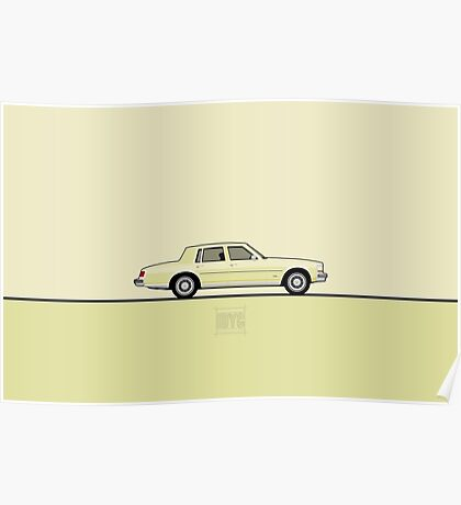 Cadillac Seville Poster