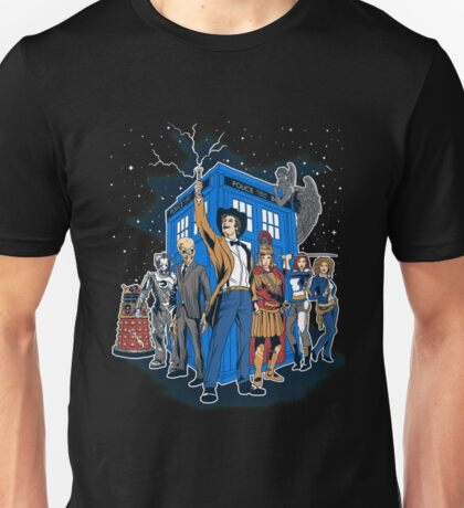Doctor Who - Masters Of The Whoniverse Unisex T-Shirt