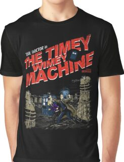 Doctor Who - The Timey Wimey Machine Graphic T-Shirt