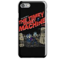 Doctor Who - The Timey Wimey Machine iPhone Case/Skin