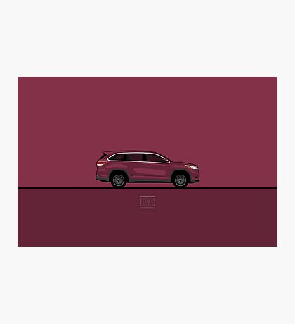 Toyota Highlander Photographic Print