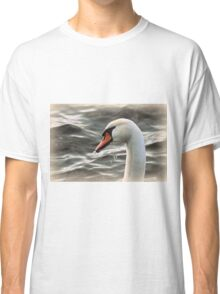 swan on the lake Classic T-Shirt