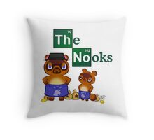 Animal Crossing Breaking Bad Throw Pillow