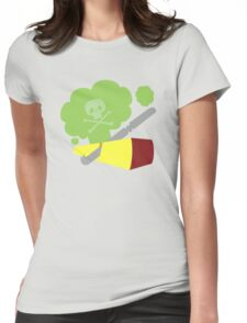 Cutting The Cheese Womens Fitted T-Shirt