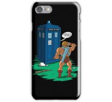 Doctor Who - Doctor What T-shirts iPhone Case/Skin