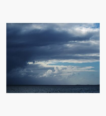 Storm Clouds Over Rockingham Photographic Print
