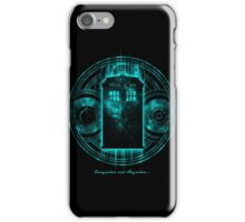 Doctor Who - Everywhere And Anywhere T-shirts iPhone Case/Skin