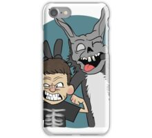 Donnie And Frank Blue iPhone Case/Skin