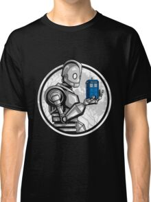 Doctor Who - The Giant's Blue Box T-shirts Classic T-Shirt