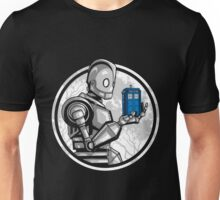 Doctor Who - The Giant's Blue Box T-shirts Unisex T-Shirt