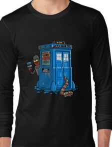 Doctor Who - Who Icide Booth T-shirts Long Sleeve T-Shirt