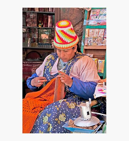 Knit Art Photographic Print