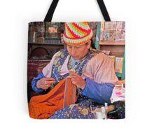 Knit Art Tote Bag