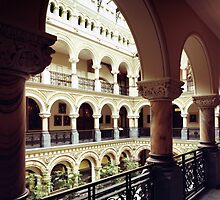 Rochester, NY City Hall Atrium by wolftinz