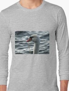 swan on the lake Long Sleeve T-Shirt