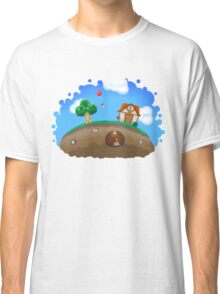 Animal Crossing Panorama  Classic T-Shirt