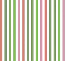 Pink Roses in Anzures 3 Stripes 1V by Christopher Johnson