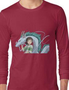 Spirited Away, Chihiro and Haku Long Sleeve T-Shirt