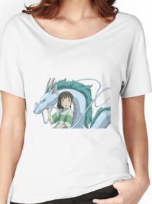 Spirited Away, Chihiro and Haku Women's Relaxed Fit T-Shirt