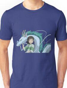 Spirited Away, Chihiro and Haku Unisex T-Shirt