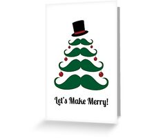 Make Merry Christmas Invitation Greeting Card