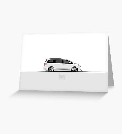 Toyota Sienna Greeting Card