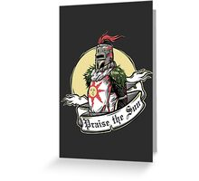 Praise the Sun Greeting Card