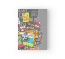 Digital Era Ruins Our Life Hardcover Journal