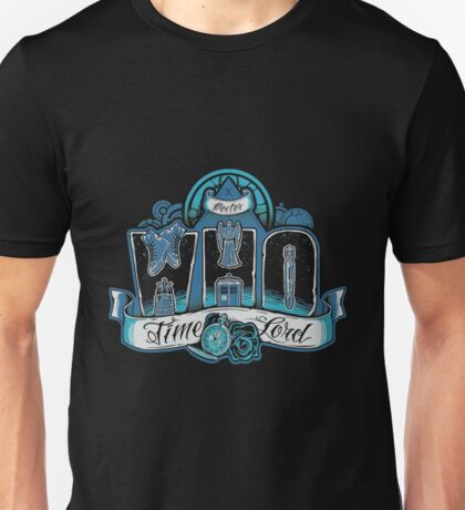 Doctor Who - Infinite Who T-shirts Unisex T-Shirt