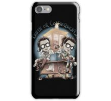 Doctor Who - Truth Or Consequences T-shirts iPhone Case/Skin