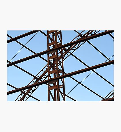 disused factory Photographic Print