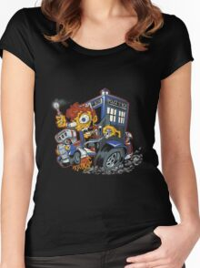 Doctor Who - Who Fink T-shirts Women's Fitted Scoop T-Shirt