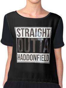 Straight Outta Haddonfield Chiffon Top