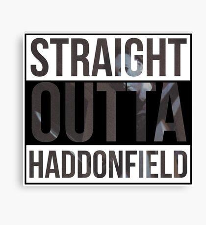 Straight Outta Haddonfield Canvas Print