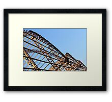 disused factory Framed Print
