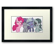 Pinkie Pie family Framed Print