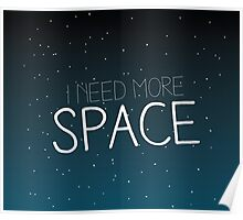 I need more space on starfield Poster