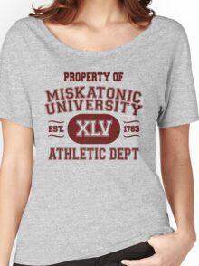 Property of Miskatonic University Athletic Dept Women's Relaxed Fit T-Shirt