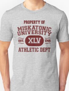 Property of Miskatonic University Athletic Dept T-Shirt